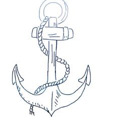 freetoedit anchor blue overlay sketched