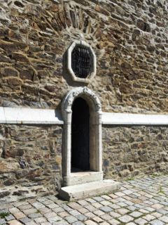 door church noeffekt old stone