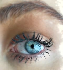 eye blue blueeyes eyes iris freetoedit
