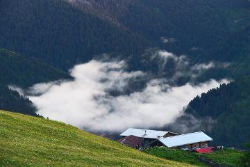 mountain clouds turkey landscape nature