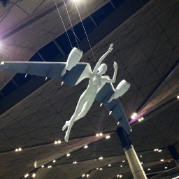 freetoedit angel plane airport art