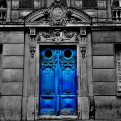 freetoedit architecture blackandwhite blue