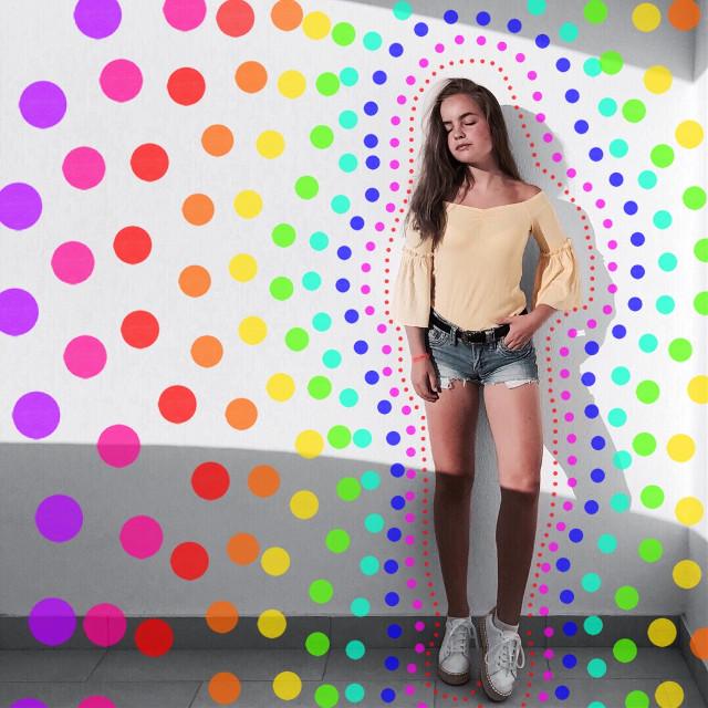 #colores #puntillismo