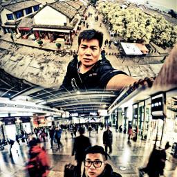 selfie travel