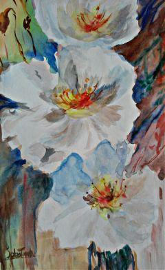 freetoedit handmade watercolor flower