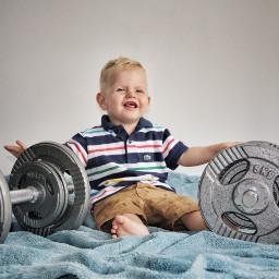 freetoedit baby fitness fitnessmodel son