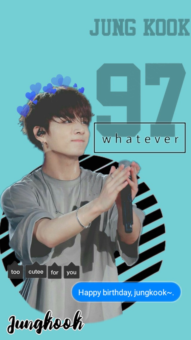 #freetoedit Happy Birthday Jungkook! I posting this a day early but I couldn't wait! #happybirthday #jeonjungkook #jungkook #bts #kpop #jungkookbts #jungkookwallpaper #btswallpaper #wallpaper #kpopwallpaper #september1