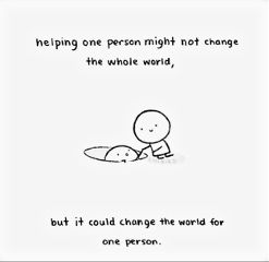 help helping others cooperation savinglifes