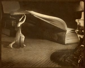 books fairy girl candle fantacy