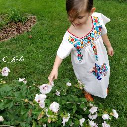 grandchild kids innocence love backyards