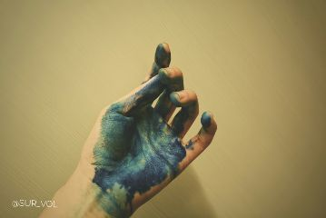 freetoedit hand blue life touch