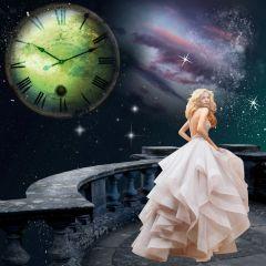 freetoedit galaxy stars nighttime woman