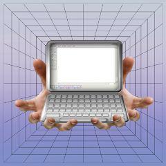 hands stickerremix laptop freetoedit