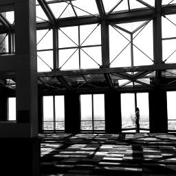 architecture geometric blackandwhite dallas texas