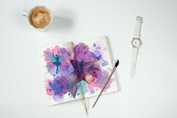 freetoedit booklet paper paint paintbrush