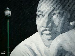 wallart martinlutherking chattanooga