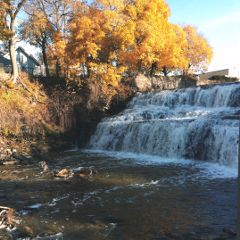 freetoedit helloseptember fall trees waterfall