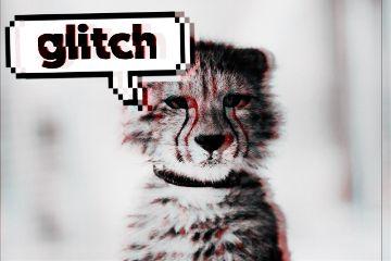 freetoedit glitch cheetah speech words