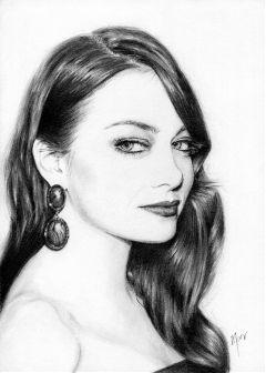 emmastone drawing art pencil portrait