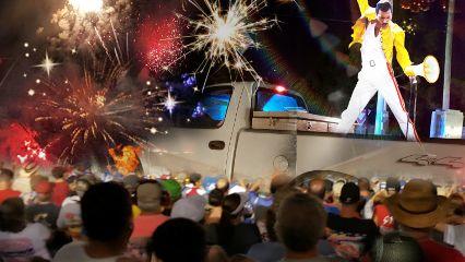freetoedit pickup fireworks crowd freddiemercury