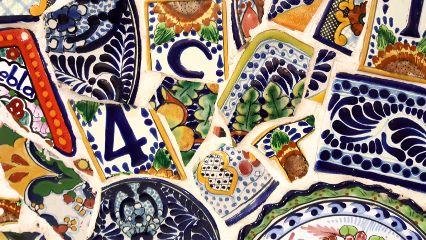 freetoedit mosaic dishes broken colorful