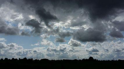 landscape clouds contrast photography nature freetoedit