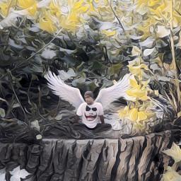fantasy painteffect madewithpicsart angel believeinyourself