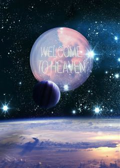 outerspace fantasy welcometoheaven sticker sign freetoedit