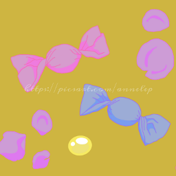 candy candies aesthetic petals flower