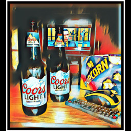 the coors popcorn