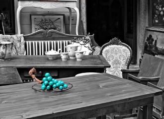 grapes alabaster turquoise fair vintage freetoedit