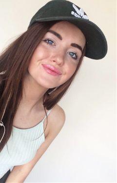 me cap adidas smile blueeyes freetoedit