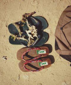 atthebeach summervibes footwear flipflops manandwoman