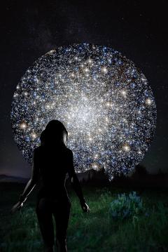 starrystickerremix freetoedit shiny moon stars