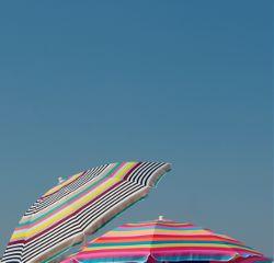 atthebeach stripes sunumbrellas colorful stripesaesthetic freetoedit