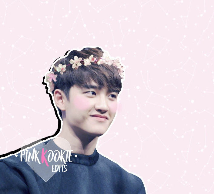 """kyungsoo for @kyungsasoo 💖  #do #exo #kyungsoo #dokyungsoo #kpop #kpopedit #exoedit  (insp: zuhos; sticker: itselya)  i made a new watermark, the pink """"k"""" is in resemblence to young k's name :)"""
