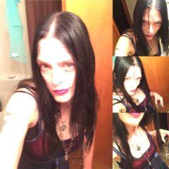 modeling interesting michigan goth dreamy