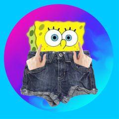 freetoedit spongebob jeans
