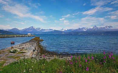 tromsø beautifulview colorful nature summer