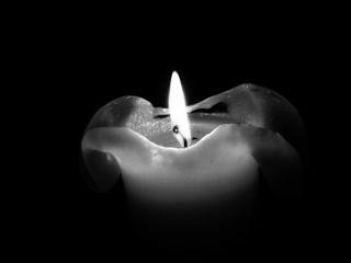 pautzispics candlelight kerzenlicht schwarzweiß bnw_edit
