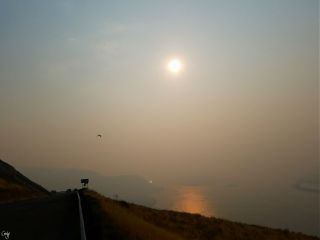 smoke  sunrise water fire freetoedit
