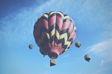 hotairballoon hotairballoonfestival balloon colors sky freetoedit