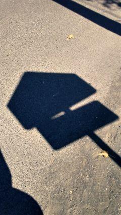 shadows street road roadsign lookdown freetoedit
