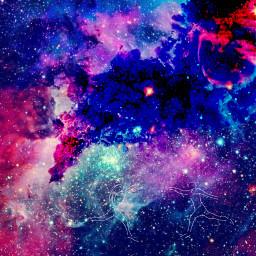 freetoedit jumphighremix sketched remixed galaxy