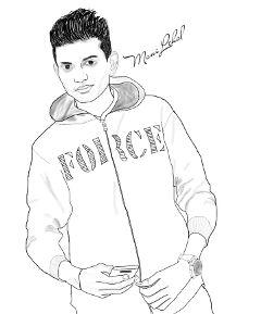 punjabiboy sketch drawing drawtools muchh freetoedit