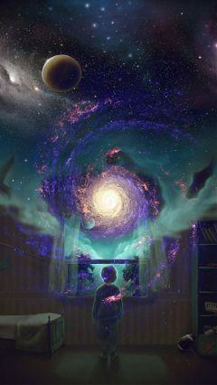 freetoedit galaxy nebula child window