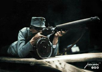 soldier weapon ww1 people man