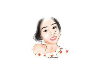freetoedit drawing cute girl