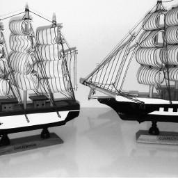 freetoedit blackandwhite photography ship decoration