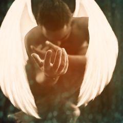 freetoedit glittermask twilighteffect angel wings